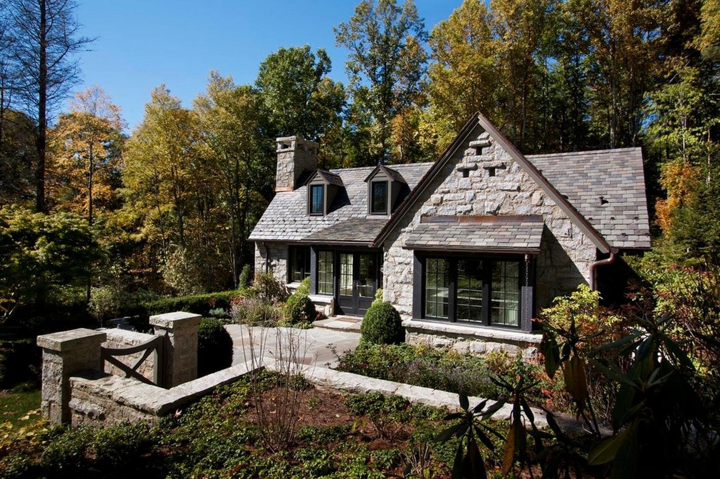 60 casas r sticas fachadas inspira es e fotos lindas - Imagenes de casas rusticas ...