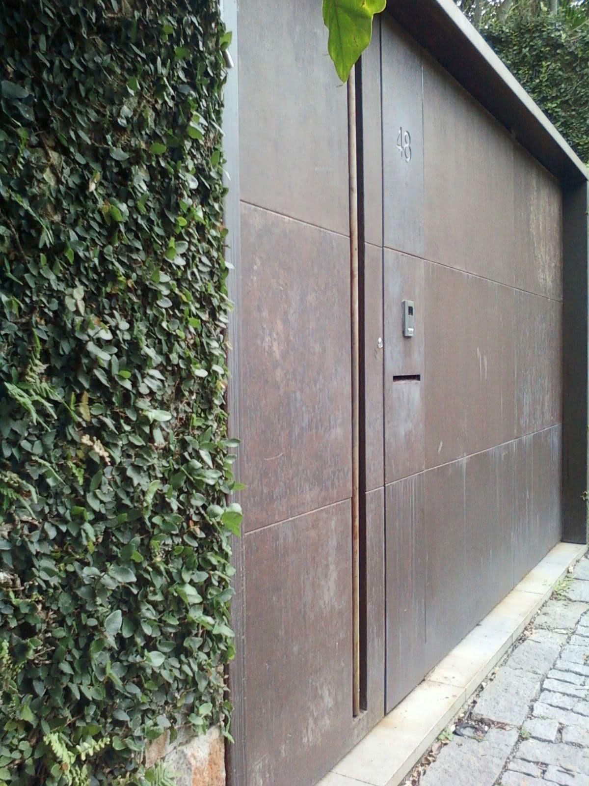 O aço corten é sinônimo de modernidade e durabilidade