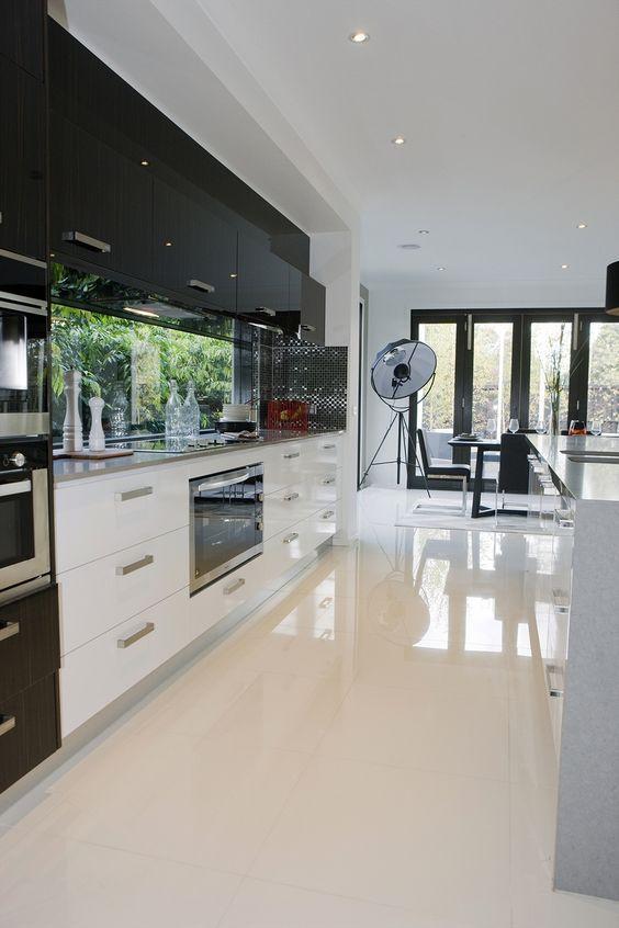 Tipos de porcelanato 60 modelos fotos ideias for Modelos de pisos de cocina