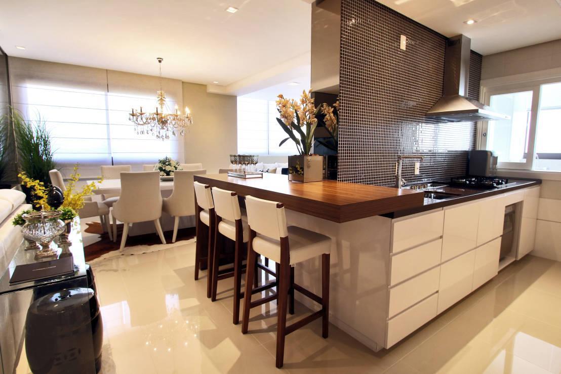 Tipos De Porcelanato 60 Modelos Fotos Ideias -> Acabamento De Sala E Cozinha