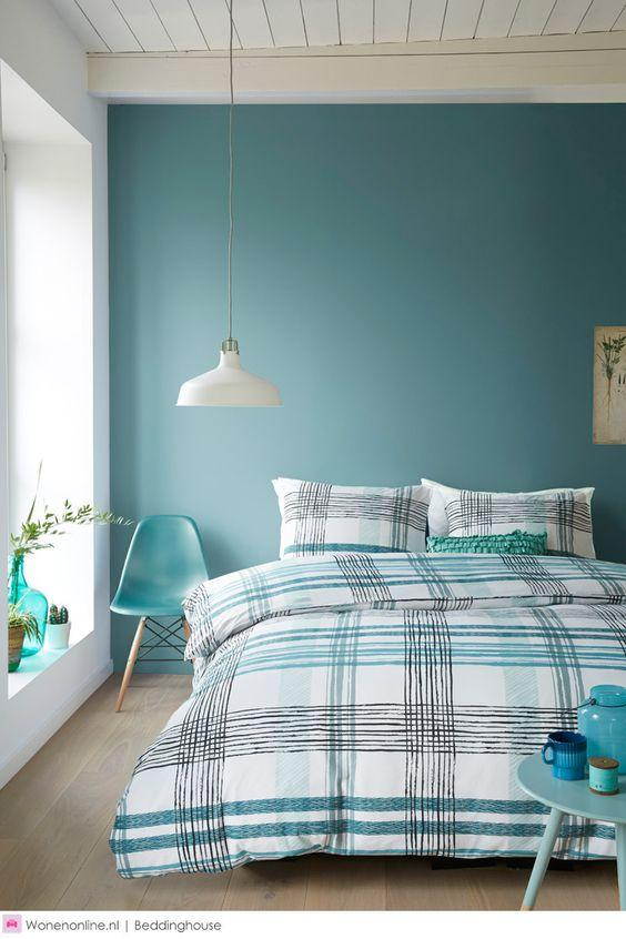 61 quartos azul turquesa tiffany fotos lindas - Decoracion en pintura para dormitorios ...