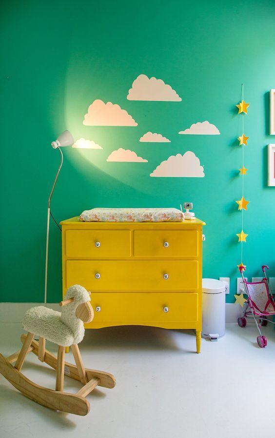 60+ Quartos de bebês verdes decorados – Fotos lindas!  Decor Fácil