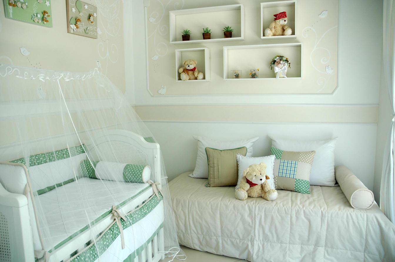 60+ Quartos de bebês verdes decorados – Fotos lindas