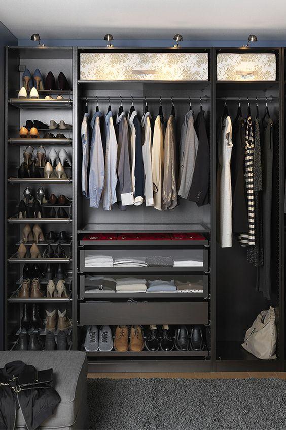 Ideal para quem tem muitos sapatos