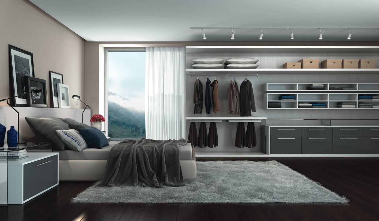 O closet junto do quarto!