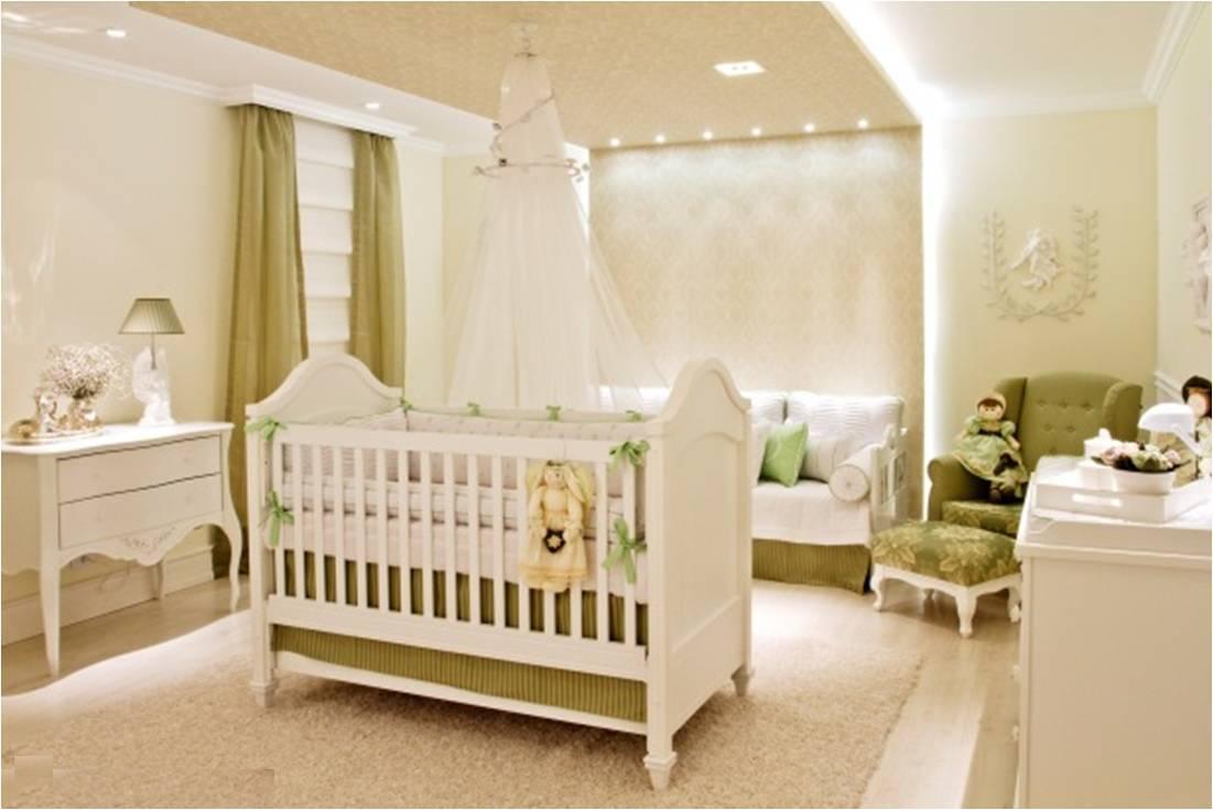 Quarto De Bebe Verde Tiffany Redival Com ~ Paredes De Gesso Para Quarto E Quarto De Bebe Floresta