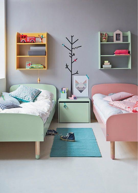 mini cama infantil 60 modelos e inspira es. Black Bedroom Furniture Sets. Home Design Ideas
