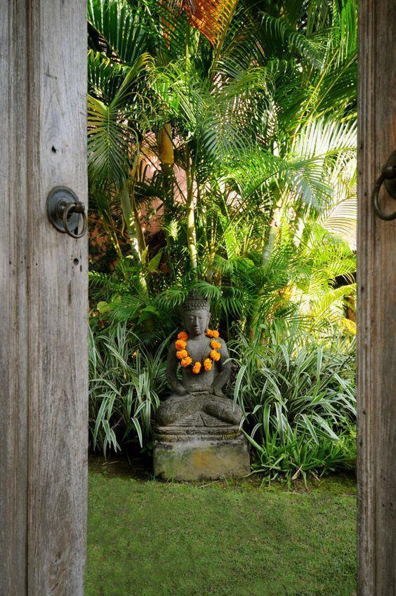 enfeites para jardim japones:Enfeites para Jardins: 53+ Inspirações com Fotos