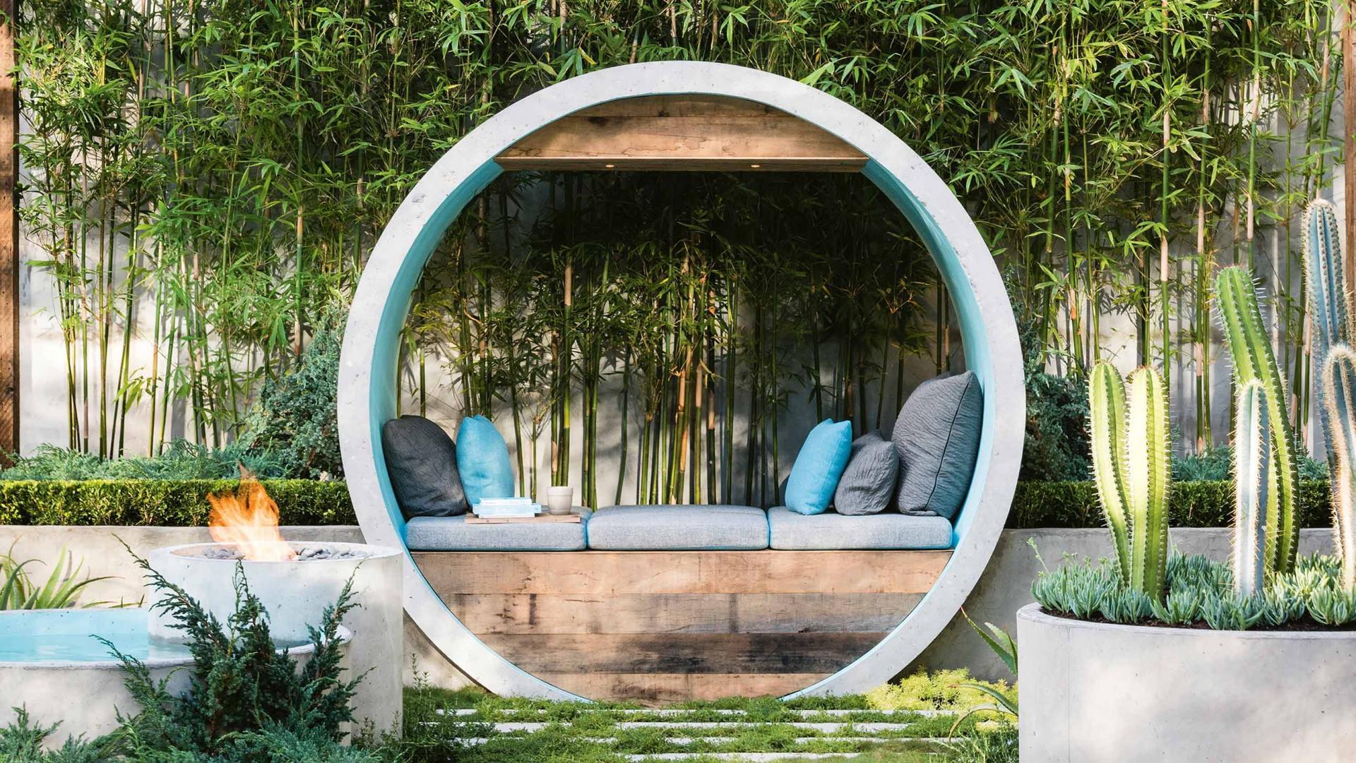 enfeites para jardim japones:Modern Garden Design