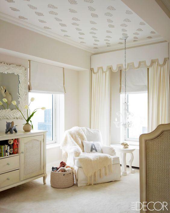 Papel de parede no teto 60 fotos e refer ncias - Papel para techos ...