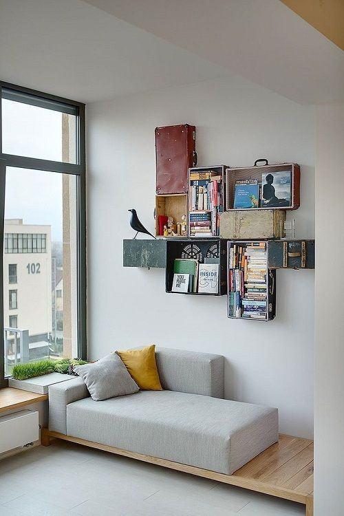 60 sof s pequenos para salas de estar fotos lindas - Sofas de dos plazas pequenos ...