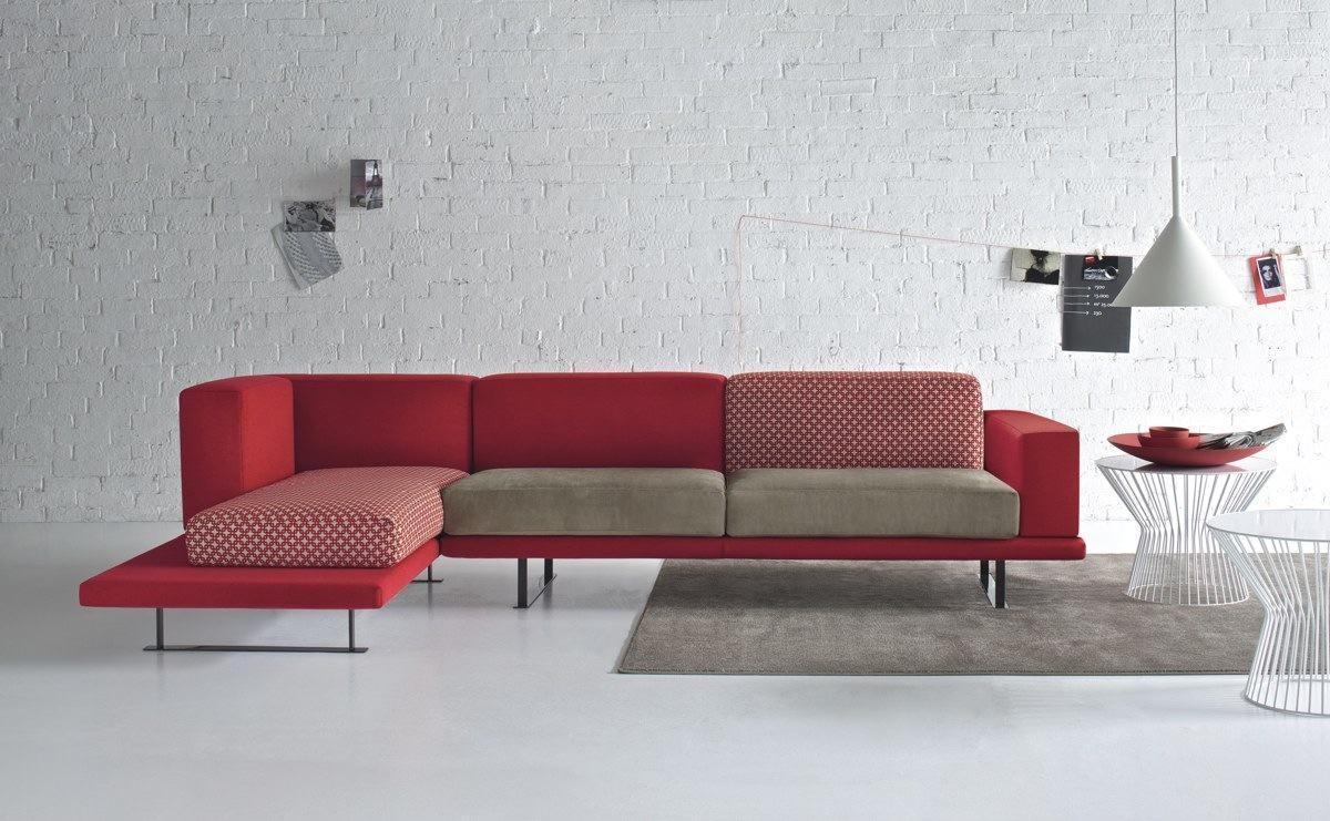 60 salas com sof s vermelhos fotos inspira es - Modelos de sofas modernos ...