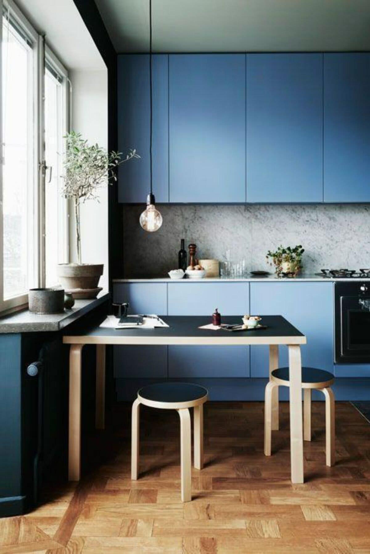 Cozinha Azul 70 Inspiracoes De Decoracao Com A Cor