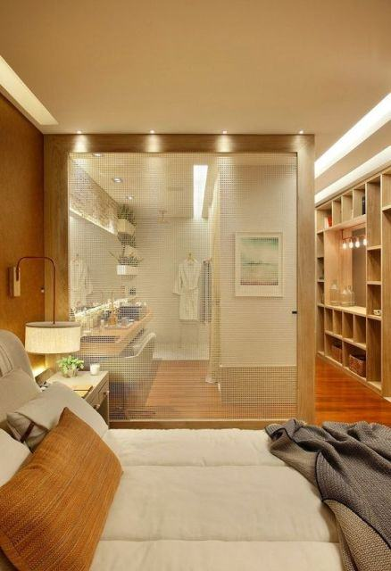 Adesivo De Contato Killing Kisafix ~ 60+ Closets com Banheiros Integrados Fotos Lindas!