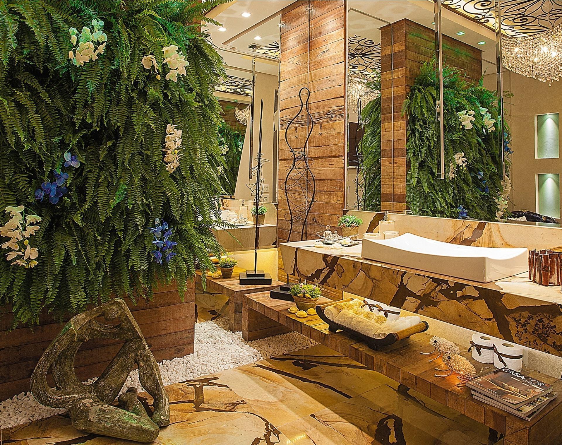 Jardim Vertical: 60  Modelos Dicas & Fotos! #B28919 1920x1520 Banheiro Com Jardim Vertical