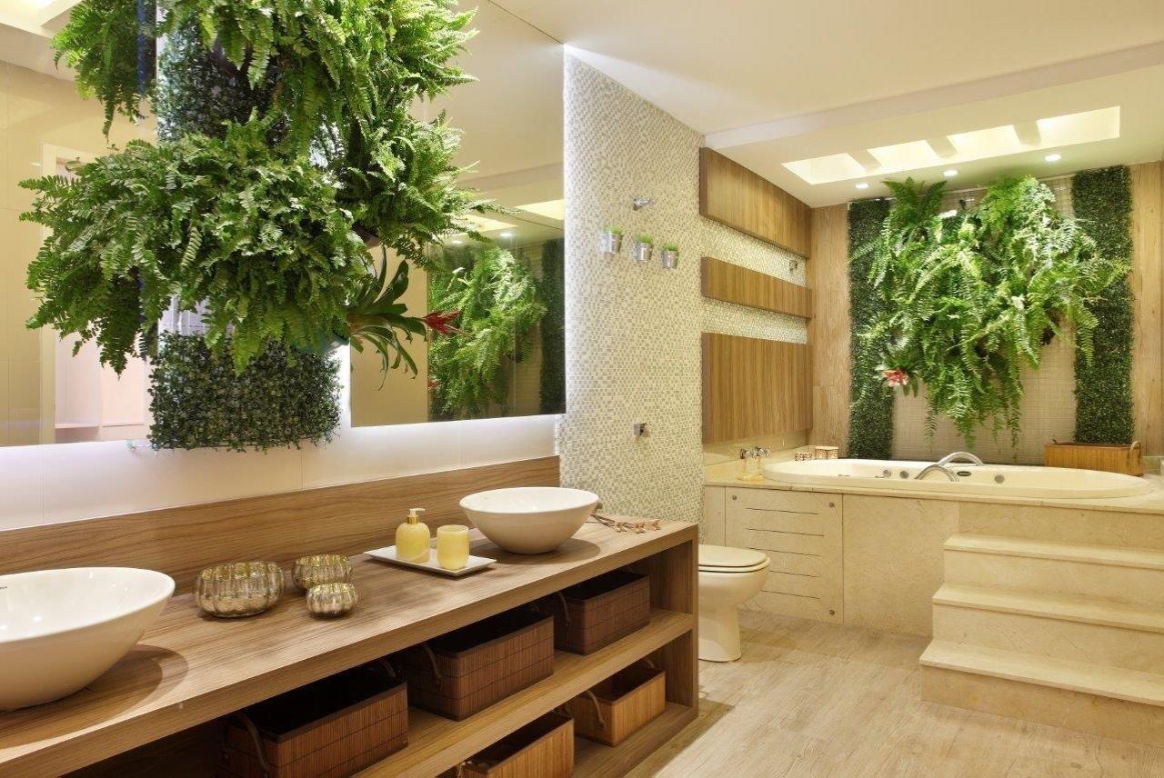 Jardim Vertical: 60  Modelos Dicas & Fotos! #6A4320 1280x856 Banheiro Com Jardim Vertical