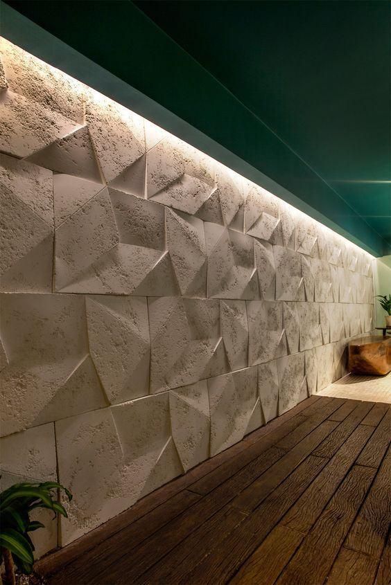 Muros Decorados 60 Projetos Fotos Amp Ideias