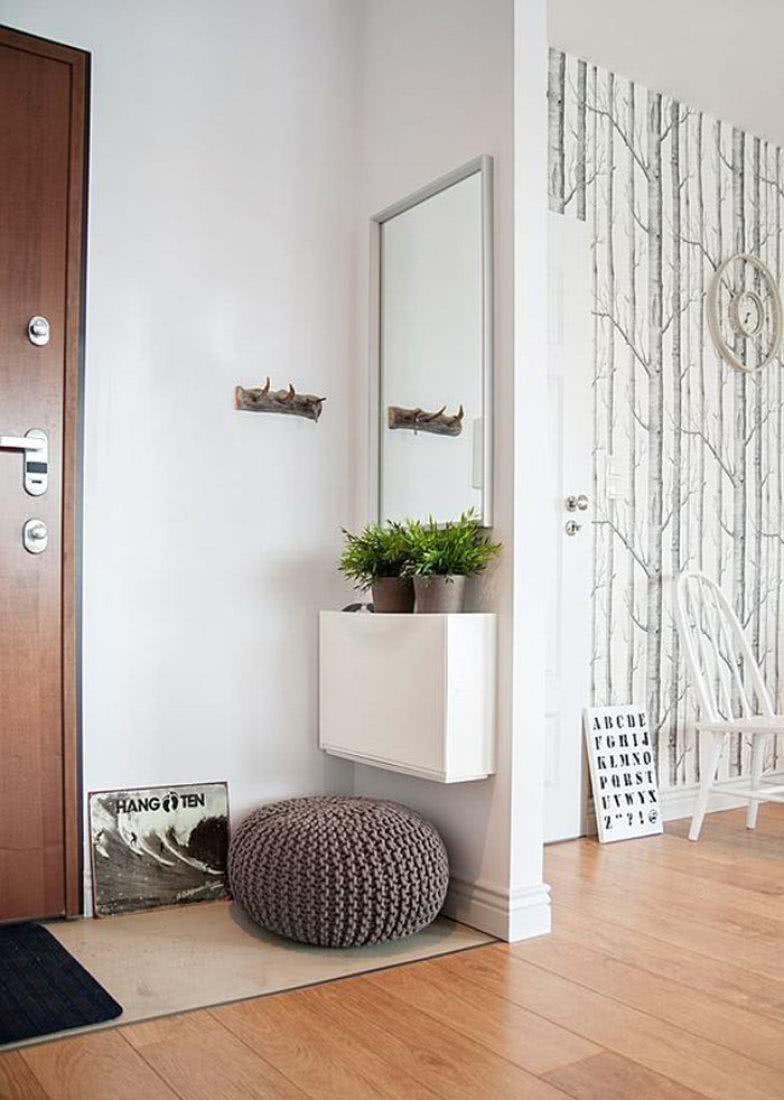 Hall de entrada 60 modelos e ideias de decora o for Entratina moderna