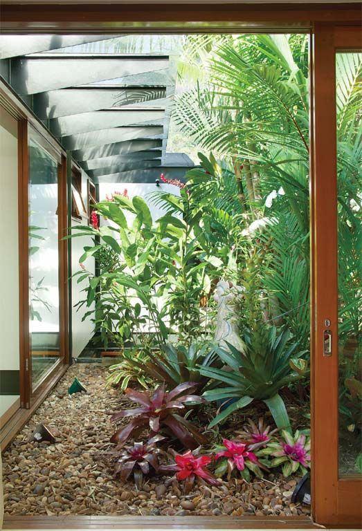 Jardim de inverno entre ambientes