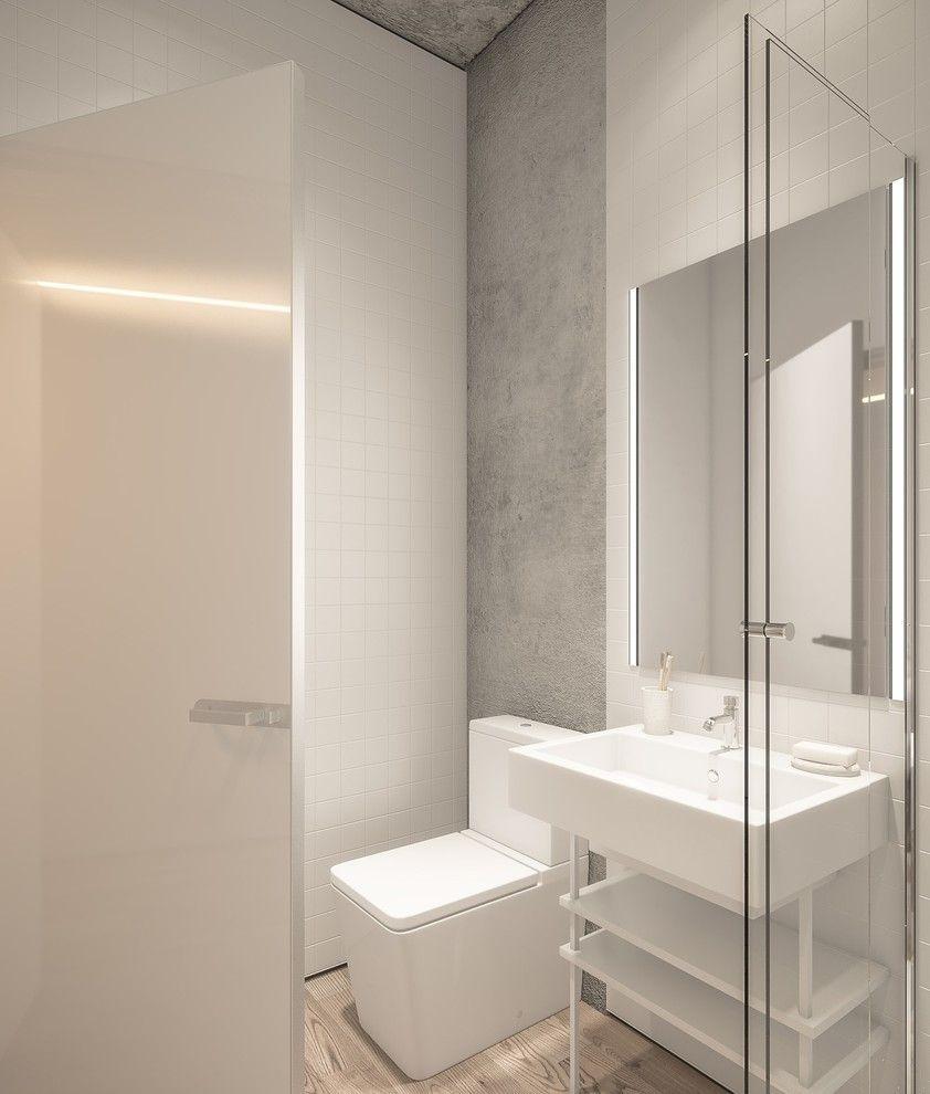 100 banheiros simples e pequenos inspiradores fotos for Imagenes de pisos decorados