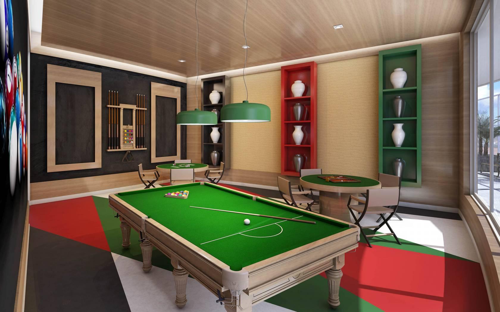 Pruzak Com Sala De Jogos E Tv No Mesmo Ambiente Id Ias  -> Sala De Tv E Jogos