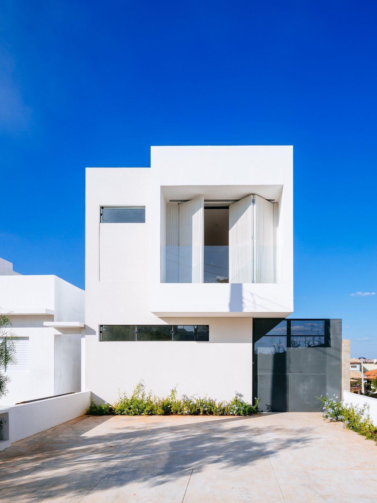 60 fachadas de casas minimalistas modelos fotos for Foto casa minimalista