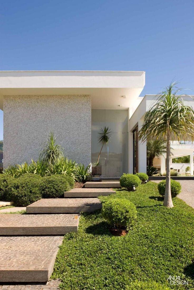 60 fachadas de casas minimalistas modelos fotos for Modelos de casas minimalistas