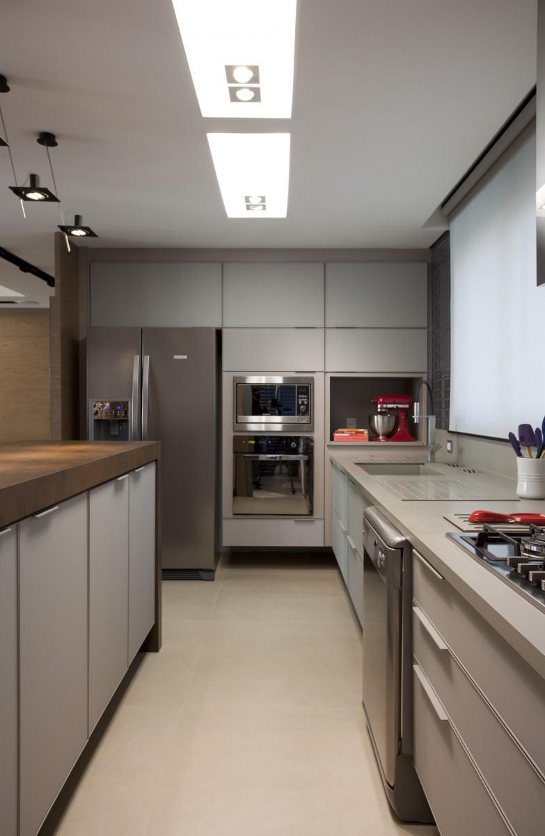 Armario De Cozinha Moderna Foto Reproduo Only Design De Interiores