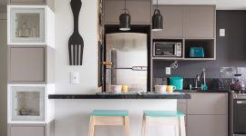 Cozinha Cinza: 60+ Modelos, Projetos & Fotos Lindas!