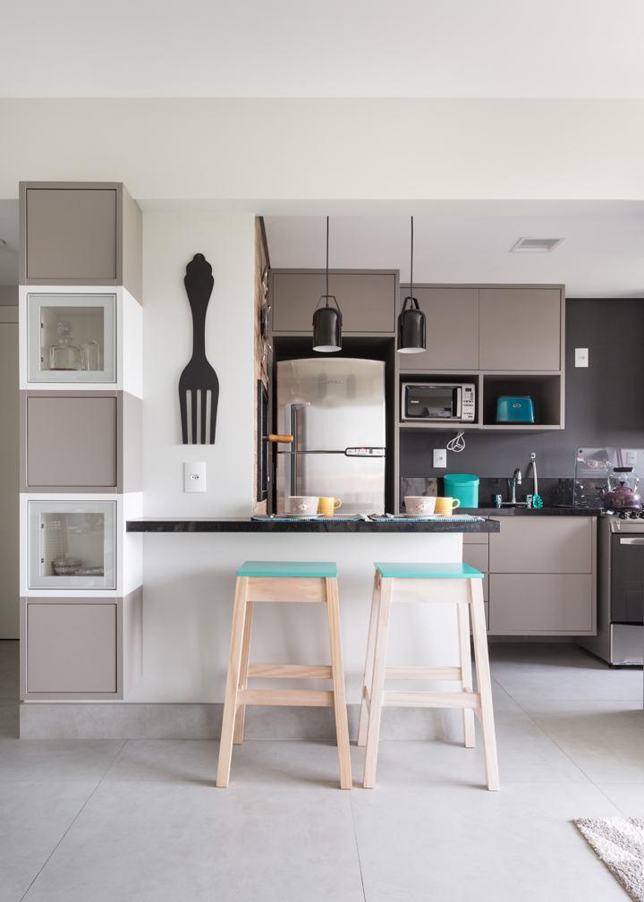 Cozinha cinza: 65 modelos, projetos e fotos lindas!