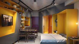 Decoração de Kitnet & Estúdios: 60+ Projetos & Fotos