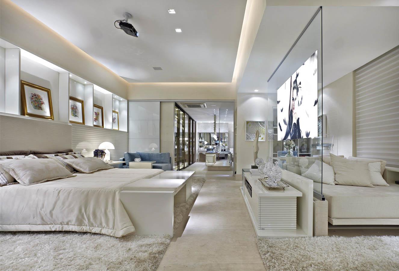 Quartos De Luxo A Id Ia De Beleza Dom Stica ~ Decoração De Quarto De Casal Luxo