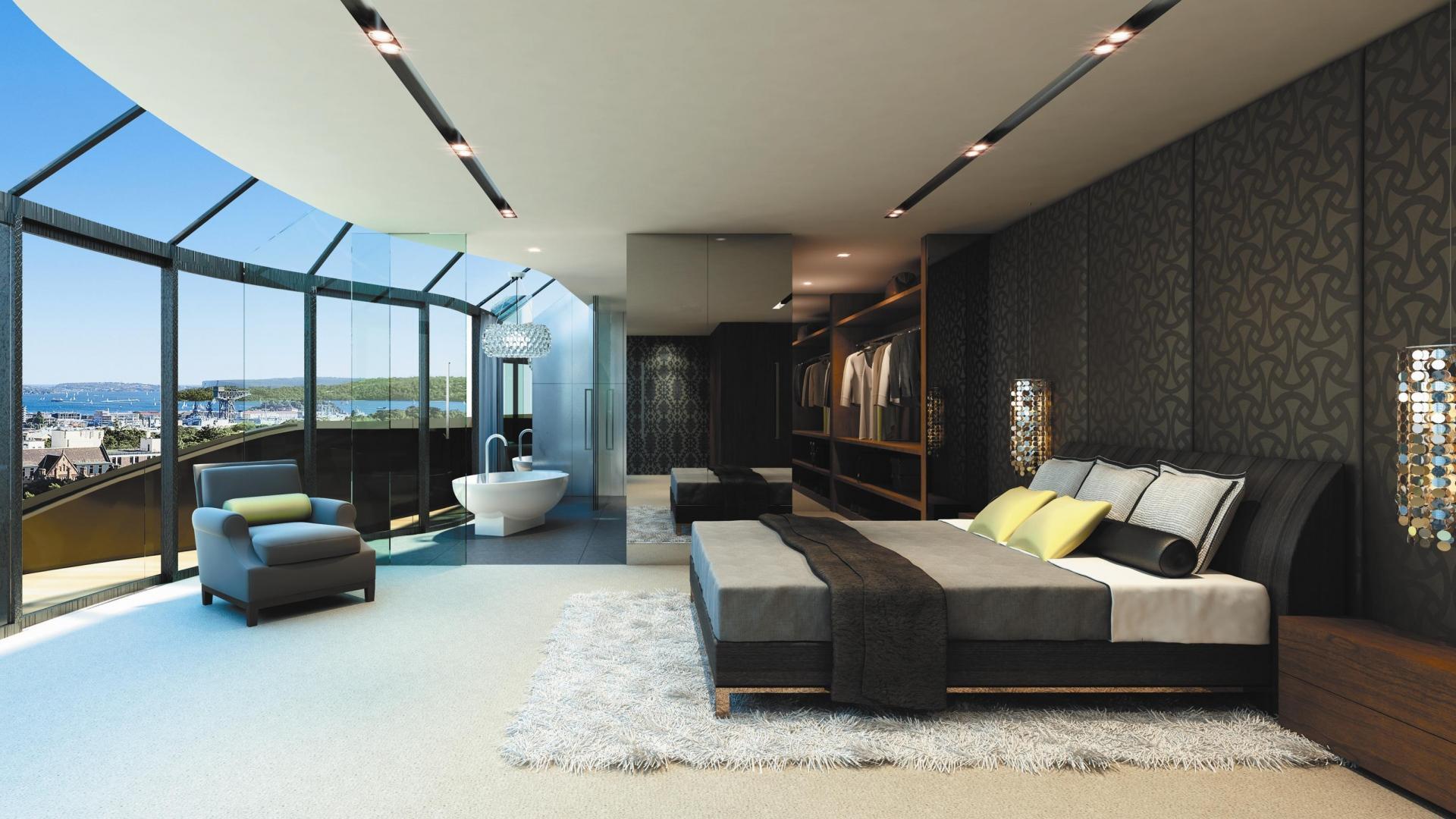 Quartos de luxo 60 inspira es fotos incr veis for House plans with big bedrooms