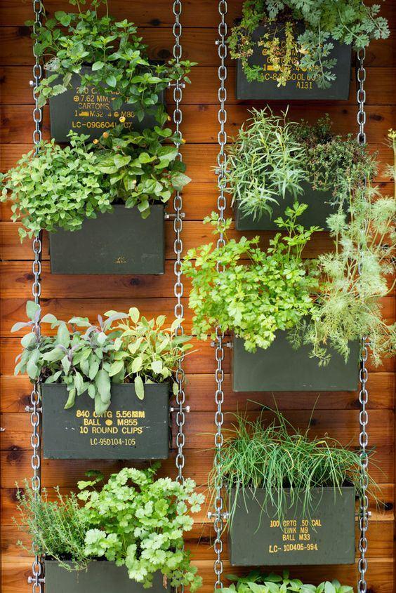 Hortas suspensas 60 projetos modelos fotos for Amaru en la puerta de un jardin