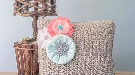 Almofadas de Crochê: 85+ Modelos, Fotos & Ideias Lindas