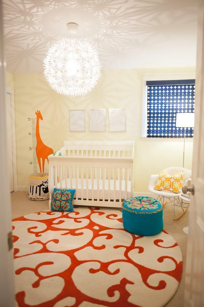 tapete redondo 60 modelos dicas fotos. Black Bedroom Furniture Sets. Home Design Ideas