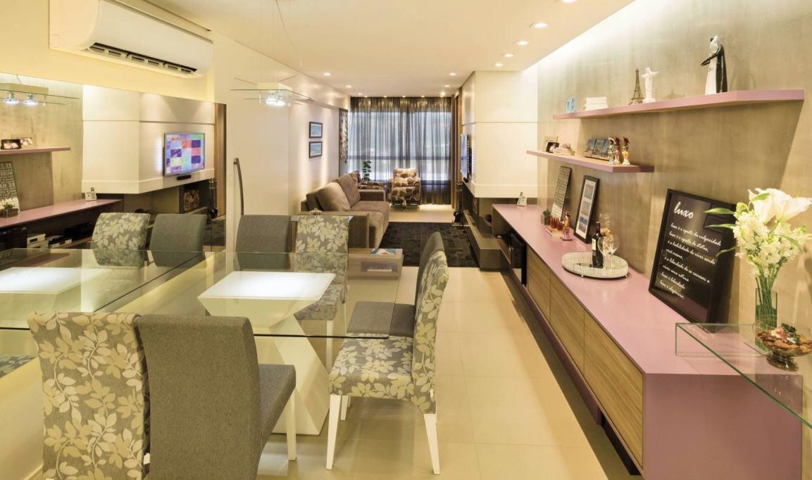 Sala de jantar moderna 60 modelos fotos lindas - Mesas de sala modernas ...