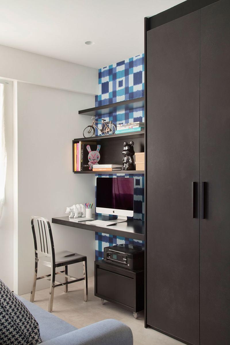 Imagem 11 U2013 Os Móveis Inseridos Demonstram Personalidade Ao Seu Home Office