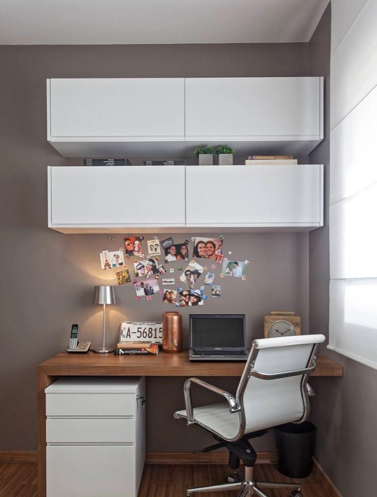 Home Office No Quarto De Empregada Redival Com ~ Home Office Planejado Quarto E Quadro De Quarto De Bebe