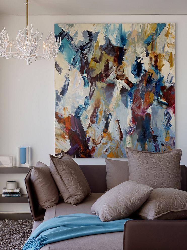 Quadros abstratos para sala