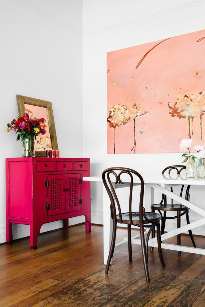Quadro Grande Para Sala De Jantar ~  sala de jantar foram escolhidos dois quadros claros e abstratos para a