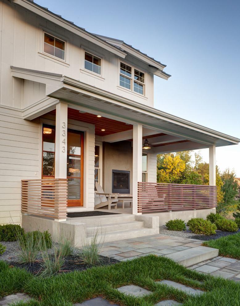 Casas com varanda 60 modelos projetos e fotos - Imagenes de casas de campo ...
