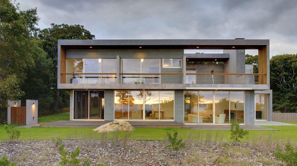 Casas com varanda 60 modelos projetos e fotos for Frente casa moderna