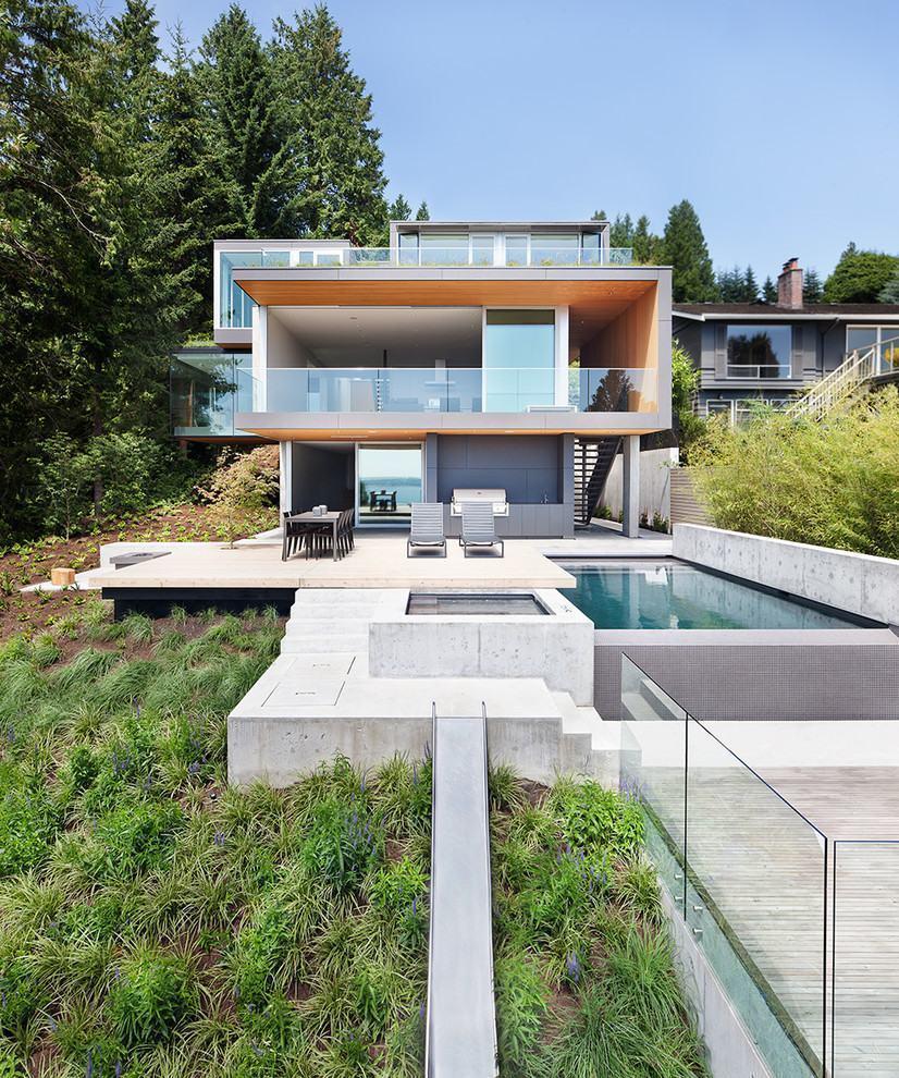 Casas com varanda 60 modelos projetos e fotos for California design west