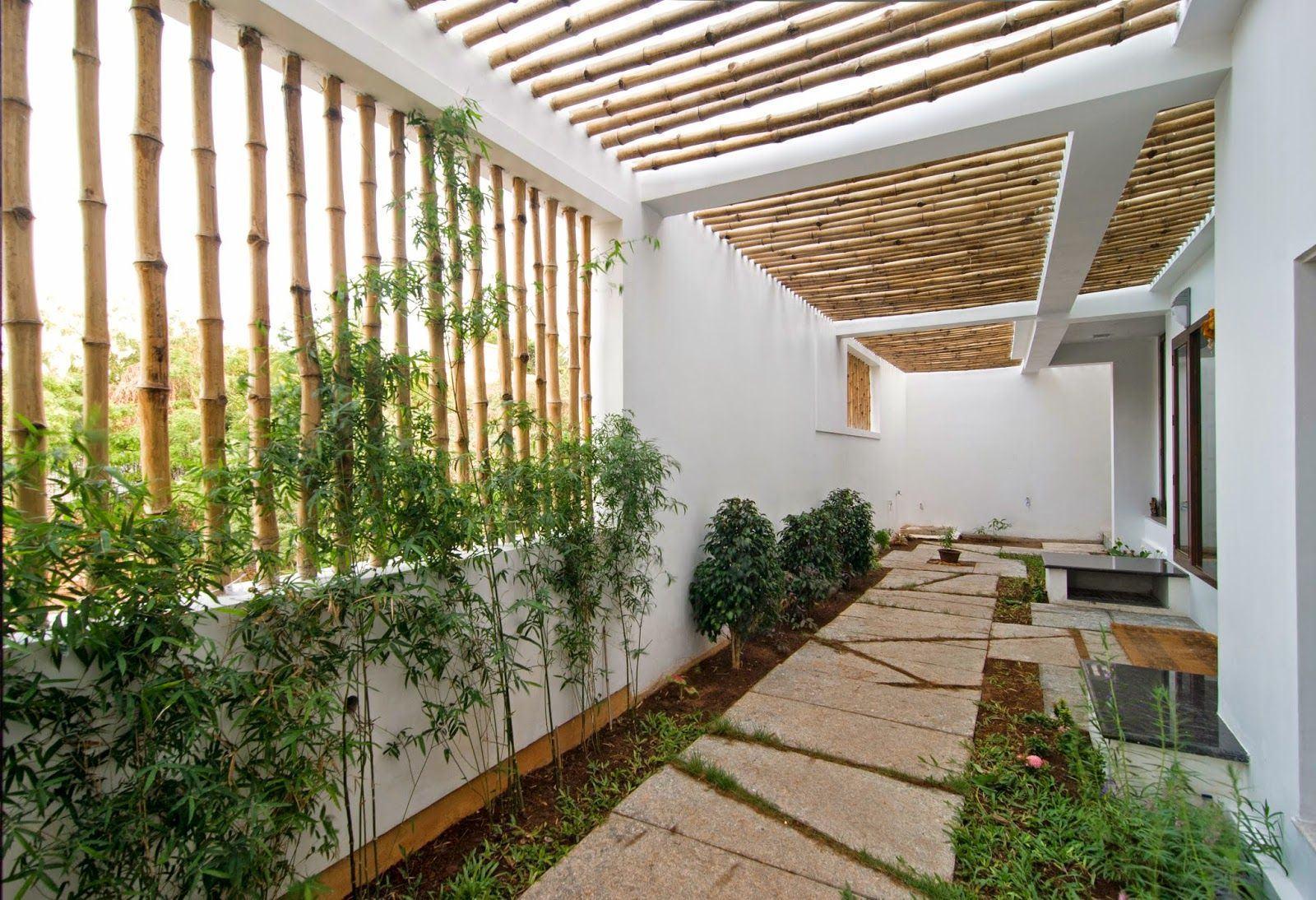 Pergolado de bambu 60 modelos fotos e como fazer - Pergolas de bambu ...
