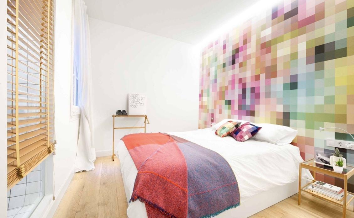 Papel de parede para quarto de casal 60 fotos lindas for Papel pared moderno