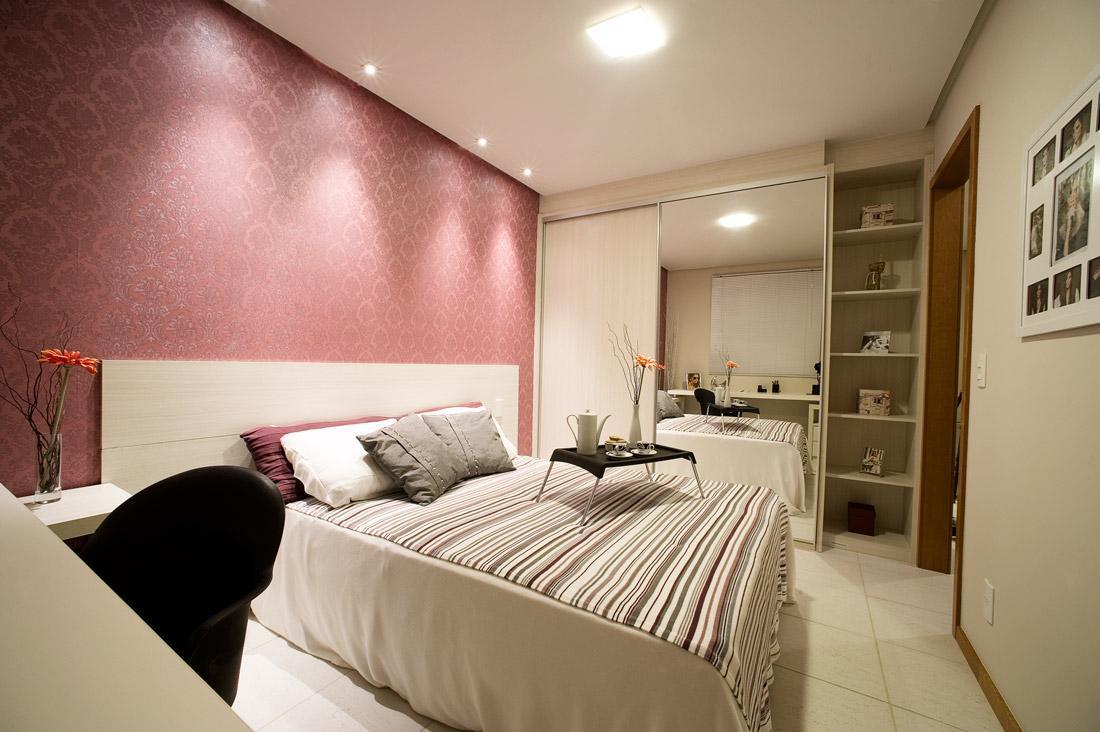 Resultado de imagem para quarto de casal Rosa, marrom e branco