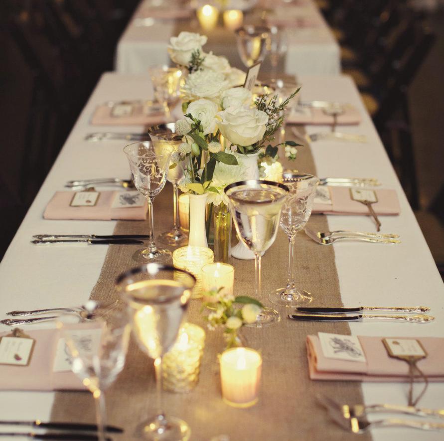 Simple Gold Wedding Decorations: Decoração Com Velas: 60+ Fotos Incríveis, Passo A Passo