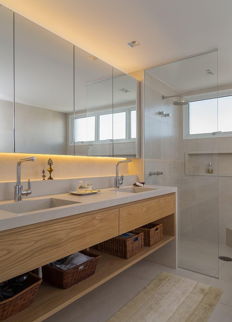 Banheiros Planejados 60+ Modelos e Fotos Incríveis! -> Banheiros Planejados Df