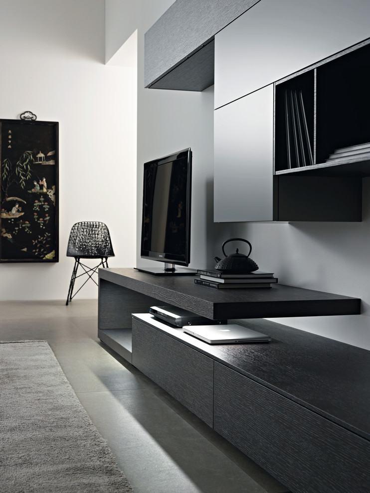 Racks modernos 60 modelos e fotos incr veis for Sala design moderno